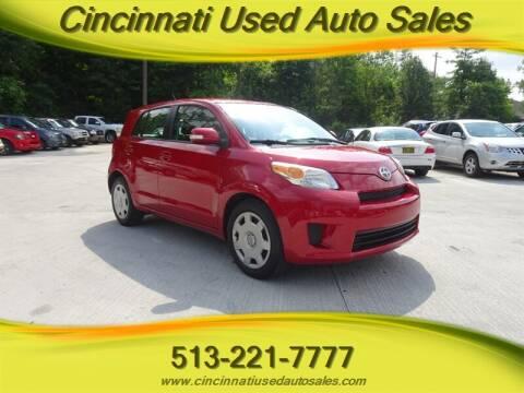 2010 Scion xD for sale at Cincinnati Used Auto Sales in Cincinnati OH