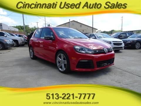 2013 Volkswagen Golf R for sale at Cincinnati Used Auto Sales in Cincinnati OH
