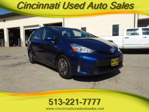 2017 Toyota Prius v for sale at Cincinnati Used Auto Sales in Cincinnati OH