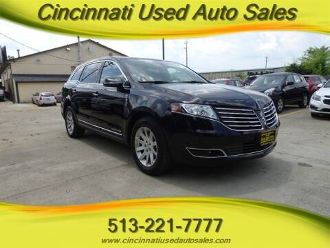 2019 Lincoln MKT Town Car for sale at Cincinnati Used Auto Sales in Cincinnati OH