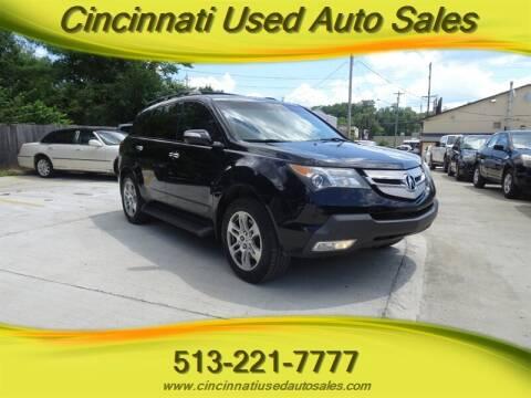 2008 Acura MDX for sale at Cincinnati Used Auto Sales in Cincinnati OH