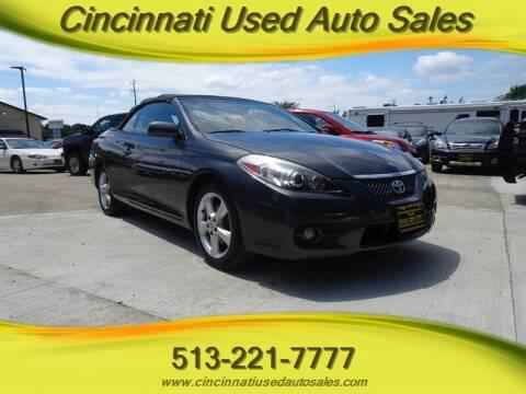 2007 Toyota Camry Solara for sale at Cincinnati Used Auto Sales in Cincinnati OH