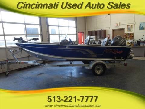 2015 Alumacraft Classic 165 for sale at Cincinnati Used Auto Sales in Cincinnati OH