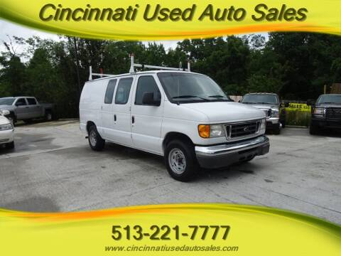 2005 Ford E-Series Cargo for sale at Cincinnati Used Auto Sales in Cincinnati OH