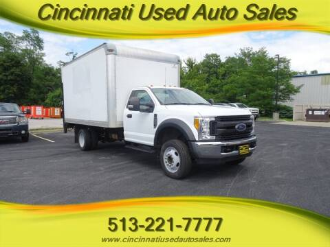 2017 Ford F-450 Super Duty for sale at Cincinnati Used Auto Sales in Cincinnati OH