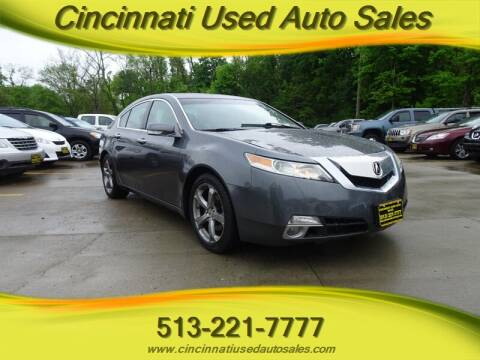 2009 Acura TL for sale at Cincinnati Used Auto Sales in Cincinnati OH