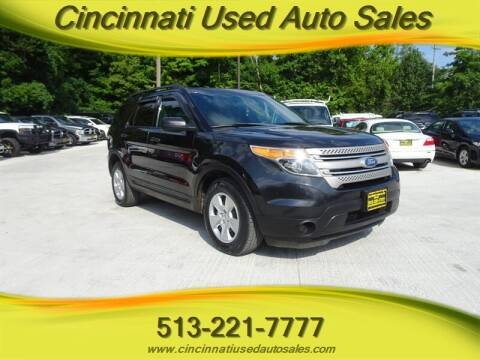 2012 Ford Explorer for sale at Cincinnati Used Auto Sales in Cincinnati OH