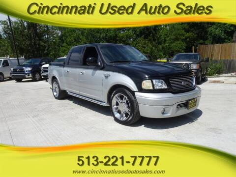 2003 Ford F-150 for sale at Cincinnati Used Auto Sales in Cincinnati OH