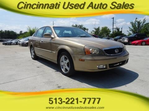 2004 Suzuki Verona for sale at Cincinnati Used Auto Sales in Cincinnati OH