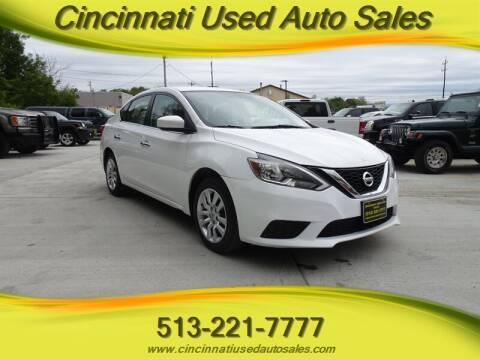 2016 Nissan Sentra for sale at Cincinnati Used Auto Sales in Cincinnati OH