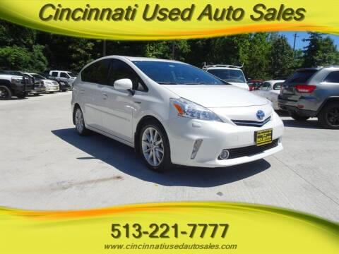 2012 Toyota Prius v for sale at Cincinnati Used Auto Sales in Cincinnati OH