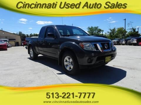 2014 Nissan Frontier for sale at Cincinnati Used Auto Sales in Cincinnati OH