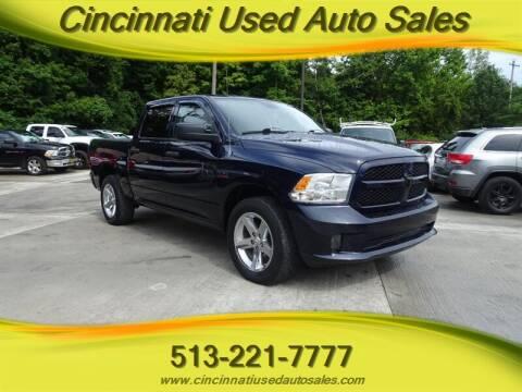 2013 RAM Ram Pickup 1500 for sale at Cincinnati Used Auto Sales in Cincinnati OH