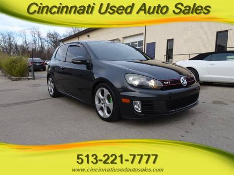 2010 Volkswagen GTI for sale at Cincinnati Used Auto Sales in Cincinnati OH