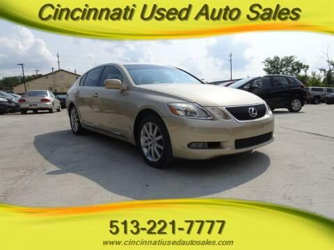 2006 Lexus GS 300 for sale at Cincinnati Used Auto Sales in Cincinnati OH