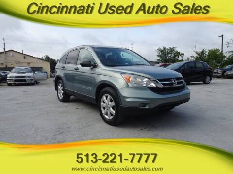 2011 Honda CR-V for sale at Cincinnati Used Auto Sales in Cincinnati OH