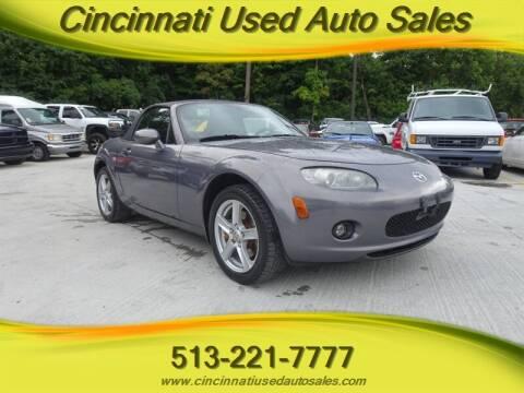 2006 Mazda MX-5 Miata for sale at Cincinnati Used Auto Sales in Cincinnati OH