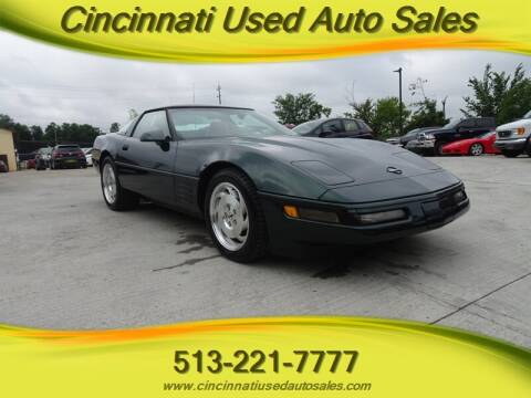 1994 Chevrolet Corvette for sale at Cincinnati Used Auto Sales in Cincinnati OH