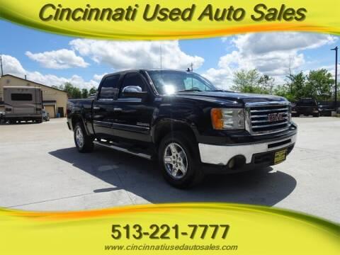 2010 GMC Sierra 1500 for sale at Cincinnati Used Auto Sales in Cincinnati OH