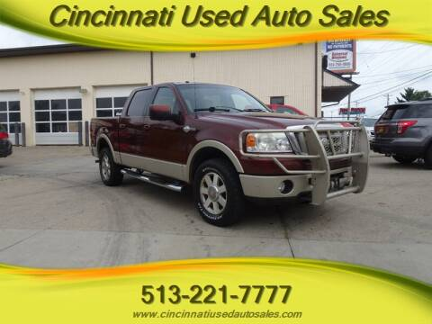 2007 Ford F-150 for sale at Cincinnati Used Auto Sales in Cincinnati OH