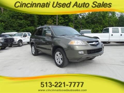 2006 Acura MDX for sale at Cincinnati Used Auto Sales in Cincinnati OH