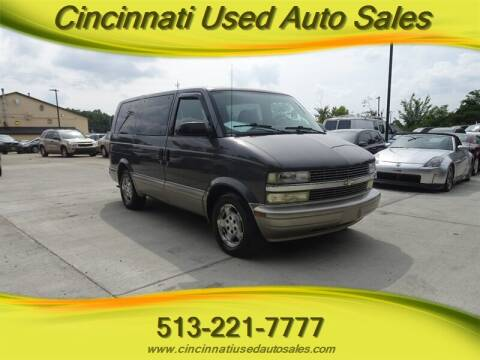 2005 Chevrolet Astro for sale at Cincinnati Used Auto Sales in Cincinnati OH