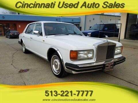 1982 Rolls-Royce Silver Spur for sale at Cincinnati Used Auto Sales in Cincinnati OH