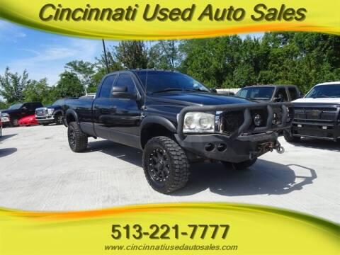 2008 Dodge Ram Pickup 2500 for sale at Cincinnati Used Auto Sales in Cincinnati OH