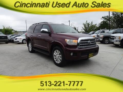 2010 Toyota Sequoia for sale at Cincinnati Used Auto Sales in Cincinnati OH