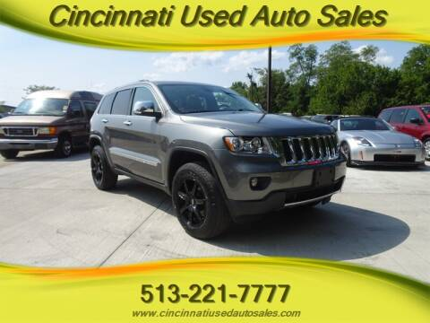 2012 Jeep Grand Cherokee for sale at Cincinnati Used Auto Sales in Cincinnati OH
