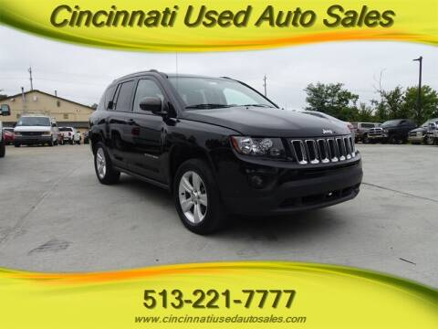 2015 Jeep Compass for sale at Cincinnati Used Auto Sales in Cincinnati OH
