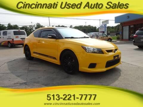 2012 Scion tC for sale at Cincinnati Used Auto Sales in Cincinnati OH