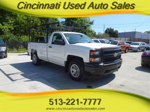 2014 Chevrolet Silverado 1500 for sale at Cincinnati Used Auto Sales in Cincinnati OH