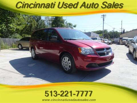 2014 Dodge Grand Caravan for sale at Cincinnati Used Auto Sales in Cincinnati OH