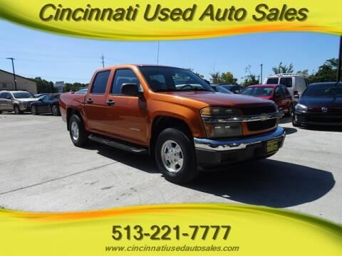2005 Chevrolet Colorado for sale at Cincinnati Used Auto Sales in Cincinnati OH