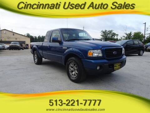 2008 Ford Ranger for sale at Cincinnati Used Auto Sales in Cincinnati OH