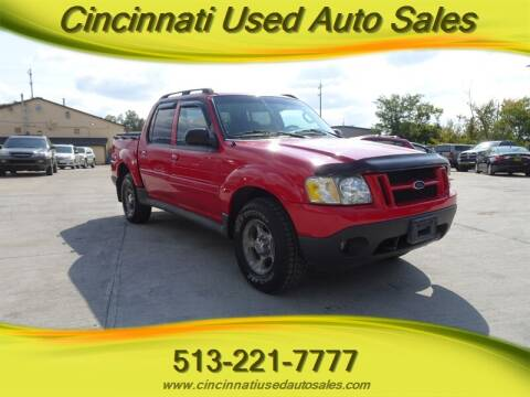 2005 Ford Explorer Sport Trac for sale at Cincinnati Used Auto Sales in Cincinnati OH