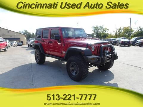 2007 Jeep Wrangler Unlimited for sale at Cincinnati Used Auto Sales in Cincinnati OH