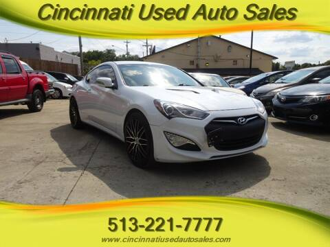 2015 Hyundai Genesis Coupe for sale at Cincinnati Used Auto Sales in Cincinnati OH