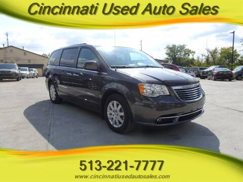 2016 Chrysler Town and Country for sale at Cincinnati Used Auto Sales in Cincinnati OH