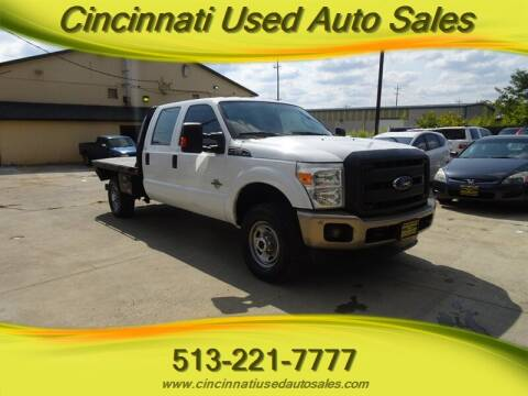 2015 Ford F-250 Super Duty for sale at Cincinnati Used Auto Sales in Cincinnati OH