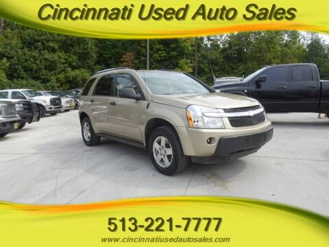 2005 Chevrolet Equinox for sale at Cincinnati Used Auto Sales in Cincinnati OH