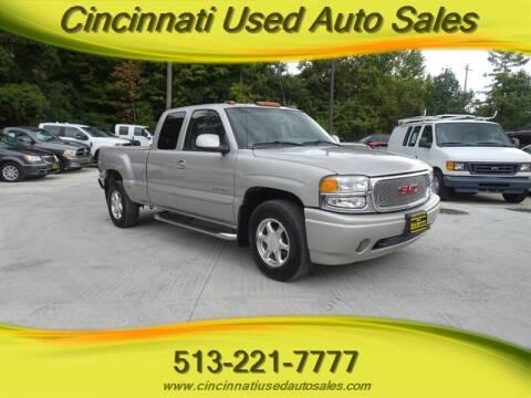 2004 GMC Sierra 1500 for sale at Cincinnati Used Auto Sales in Cincinnati OH