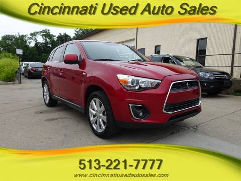 2014 Mitsubishi Outlander Sport for sale at Cincinnati Used Auto Sales in Cincinnati OH