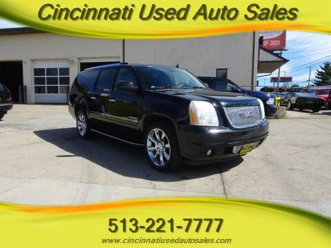 2010 GMC Yukon XL for sale at Cincinnati Used Auto Sales in Cincinnati OH