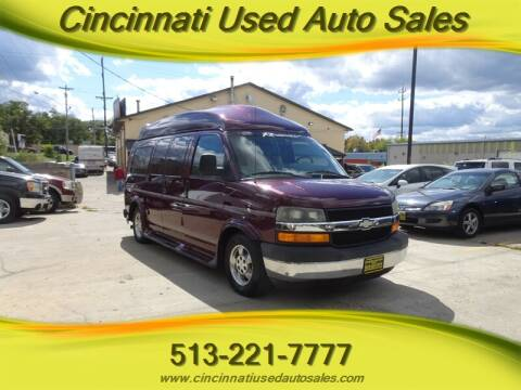 2003 Chevrolet Express Cargo for sale at Cincinnati Used Auto Sales in Cincinnati OH