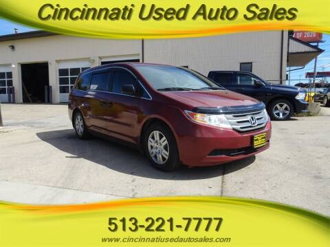 2013 Honda Odyssey for sale at Cincinnati Used Auto Sales in Cincinnati OH