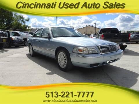 2010 Mercury Grand Marquis for sale at Cincinnati Used Auto Sales in Cincinnati OH