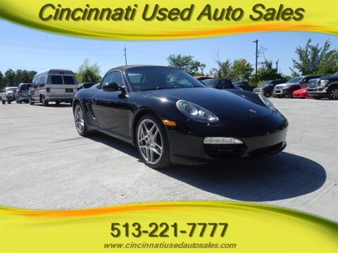 2009 Porsche Boxster for sale at Cincinnati Used Auto Sales in Cincinnati OH