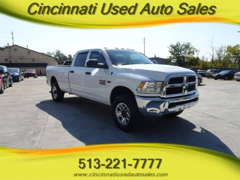 2017 RAM Ram Pickup 2500 for sale at Cincinnati Used Auto Sales in Cincinnati OH